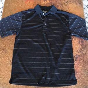 {PGA Tour} Golf Shirt. Dark gray. Size Small.